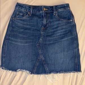 Super cute cut off jean skirt
